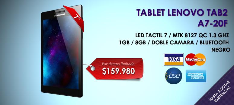 Tener una tableta asequible se puede llevar a cualquier lugar. La tableta Lenovo TAB 2 A7 muestra apagado su personalidad con una variedad de colores para elegir y con capacidad de procesamiento
