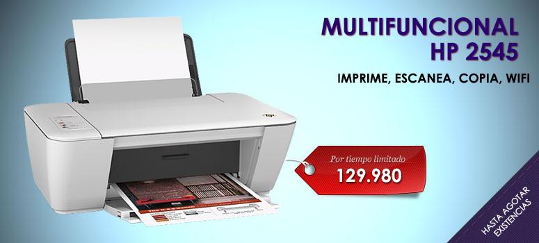 Esta HP Deskjet simplifica todas las tareas de impresión  escaneo y copiado a un menor costo.